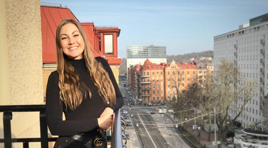 Porträttbild Ida Matthiasson, affärsområdesansvarig för Castra Väst IT-management
