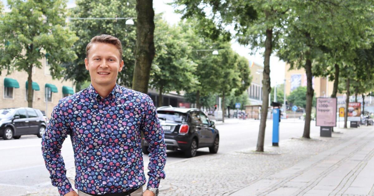 Porträttbild Sebastian Fageholm, ansvarig för ramavtal