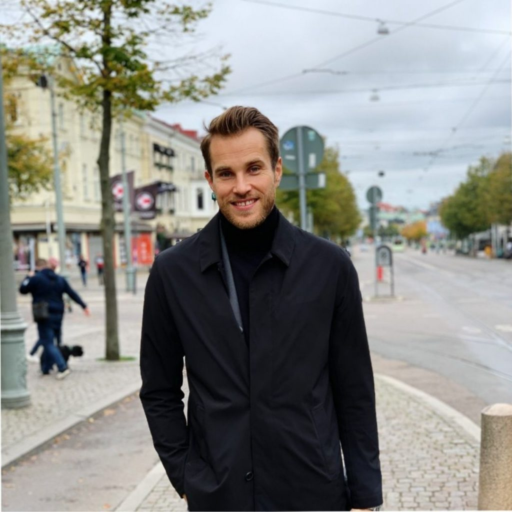 Jonas Elvestål porträttfoto