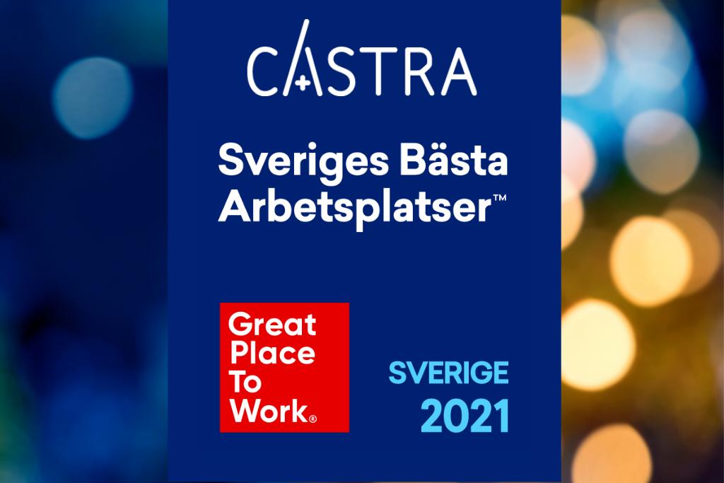 Castra Sveriges Bästa Arbetsplatser