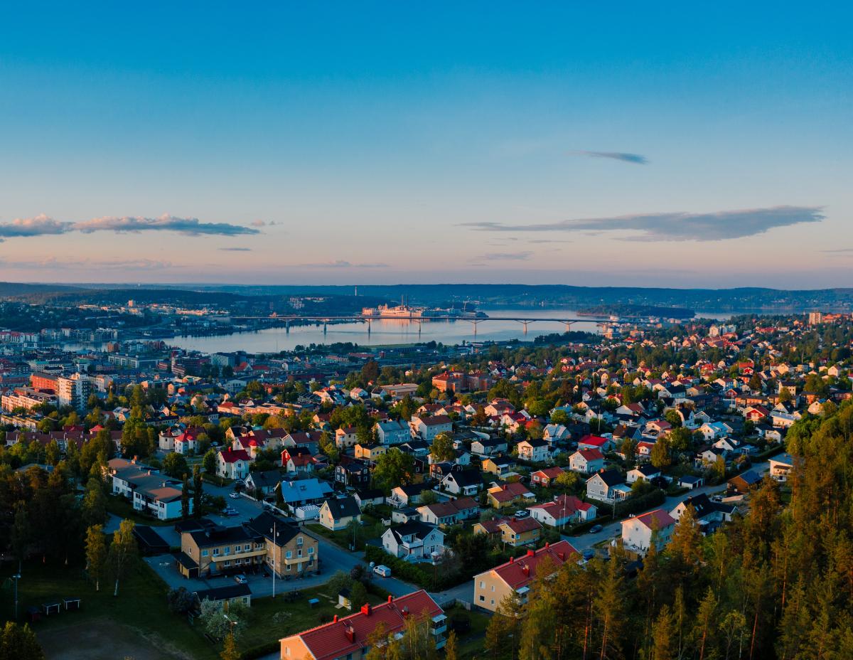 Vybild av Sundsvall